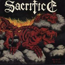 SACRIFICE - Torment In Fire LP - COLORED Vinyl - Thrash Metal Record - SEALED