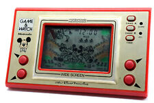 Nintendo Game & Watch Wide Screen Mickey Mouse MC-25 MIJ 1981 As-is Cond. g41