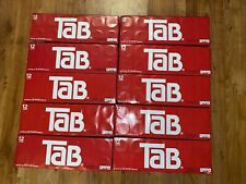 10 PACKS Tab Soda 12-Pack Soft Drinks Tab Cola 12 oz