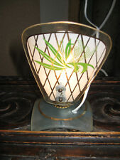 PETITE LAMPE VEILLEUSE ANCIENNE RAT DE CAVE EN VERRE DESIGN 1950/60--N°MA21