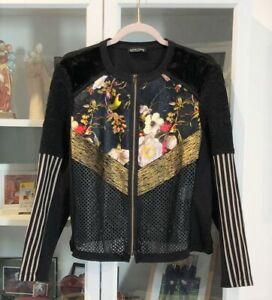 David Pond (NZ) Gorgeous Floral Top/Jacket -  Size 12