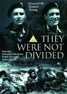 They Were Not Divided DVD 1950 War Movie WW2 Film Edward Underdown World War II