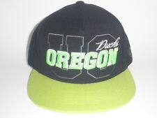 Oregon Ducks Hat SUBLIME Strapback Cap Lime Black OSFA ($35) NEW UO Pac 12 RARE