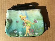 New Disney Tinkerbell Small Coin Purse with Rhinestones and Sparkles