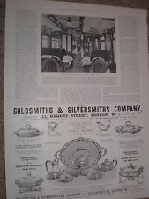 Printed photo new dining car for the East Coast Scotch Express railway 1900