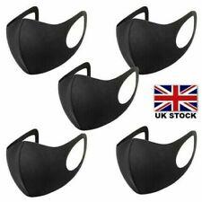 5x Reusable Washable Face Masks Breathable Safe Mouth Mask Protection Lot Unisex