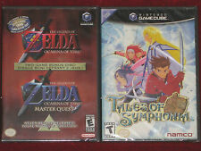 *New & Factory Sealed* GameCube Games TALES OF SYMPHONIA + THE LEGEND OF ZELDA
