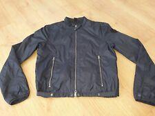 Boys Replay Bomber Style Jacket Size Lb Navey