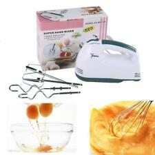 Electric Super Mixer Hand Mixer Whisk Food Beater 7-speed Selectors