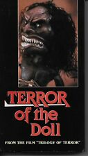 Terror of the Doll Karen Black from Trilogy of Terror VHS Rare OOP (played once)