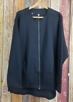 NWT Under Armour Muscle Recovery Jacket Men's Black Full Zip Celliant Sz 3XL