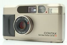 【 As-is *APPEARANCE EXC+++++ 】 Contax T2D T2 D 35mm Film Camera from JAPAN