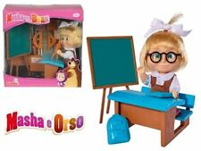 Masha 12cm Russian Doll Masha and the Bear - Masha School Fun