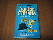 The Mysterious Affair at Styles by Agatha Christie (2004, Cassette, Unabridged)
