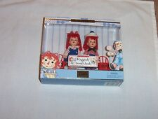 1999 Kelly and Tommy dolls as Raggedy Ann and Andy For ages over 3