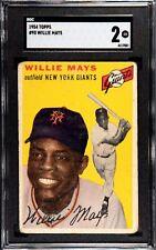 1954 Topps #90 Willie Mays SGC 2 GOOD NEW YORK GIANTS