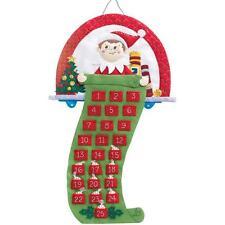 Elf On The Shelf Scout Elf Advent Calendar Felt Applique Kit - NEW
