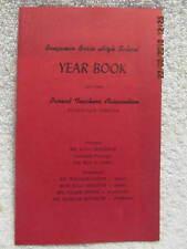 Bosse High School 1963-64 PTA Year Book Evansville IN With Dozens of Names