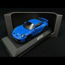 Porsche 911 GT3 type 992 2021 bleu requin 1/43 Minichamps WAP0201490M005