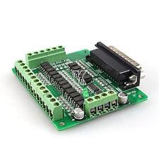 6 Axis DB25 Breakout Board for MACH3, mach4