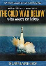 Cold War Below Polaris Submarine Regulus II Missile DVD