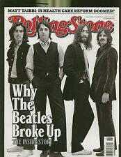 ROLLING STONE #1086 2009 WHY THE BEATLES BROKE UP INSIDE STORY