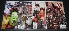 Nation X 1, 2, 3, 4 Complete Set (2010, Marvel) 1st Print lot