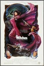 WITCHES - 1989 - orig rolled 27x40 movie poster - ANGELICA HUSTON, JIM HENSON