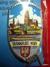 Frankfurt am Main new hiking medallion badge shield mount stocknagel G9890