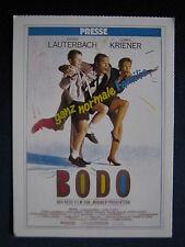 Filmplakatkarte cinema  Bodo  Heiner Lauterbach ; Kriener