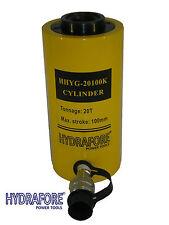 20ton 100mm Vérin hydraulique à piston creux Cilindro hidráulico