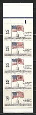 UNITED STATES 1985, FLAG OVER CAPITOL 22c, Sc 2116a COMPLETE BOOKLET, MNH