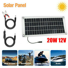 20watt Solar Panel 20w 12v Trickle Charge Battery Charger Kit Battery Maintainer