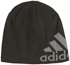 adidas Knit Logo Beanie Black X-Small New