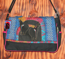 Laurel Burch Horse Print Messenger Bag Sun N Sand Licensed Beach Bag