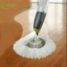 Congis Round Rotate spinning mops Water Spray Mop with Microfiber cloth replace
