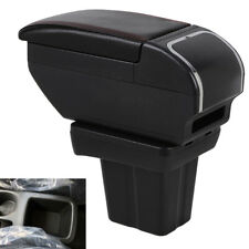 Armrest Box Central Console Storage Box Cup Holder For Nissan Kicks 2016 2017