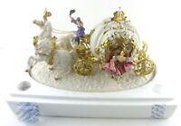 Cinderella's Magical Moment Anniversary Sculpture Alexsander Danel Carriage