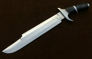 Handmade 5160 Spring Steel Predator Machete,Rambo knife,Tactical Knife, Bowie