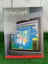 DeltaPoint DeltaGraph Graph Software Vintage Microsoft Excel Promotional -Unused