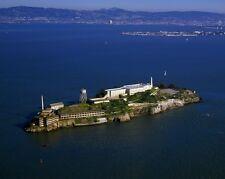 New 8x10 Photo: Aerial view of Alcatraz Island and Penitentiary, San Francisco