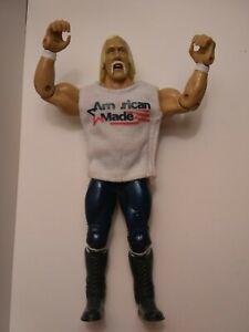 WWE Classic Hulk Hogan WrestleMania Ticket Promo Figure American Made.