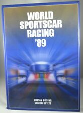 WORLD SPORTSCAR RACING YEARBOOK hardcover - 1989 by UPIETZ & BUSING