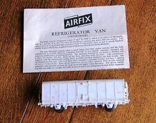 Vintage Airfix Refrigerador Van wagon OO escala Modelo Kit De Ferrocarril