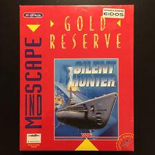 Silent Hunter Gold Reserve - Big Box NEUF (PC, 1995, FR)