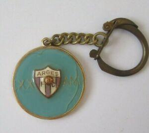 Vintage Romania Arges Pitesti Football Club 1953-1973 Keychain