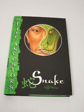 Signed Jeff Stone Snake The Five Ancestors Book 3 Hardcover 2006 1st/1st