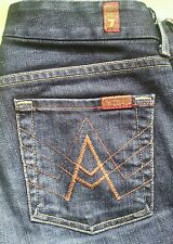 7 Seven For All Mankind A Pocket Size 26 Denim Blue Jeans Bootcut