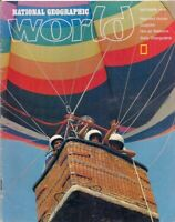 national geographic WORLD-OCT 1976-HOT-AIR BALLOONS.