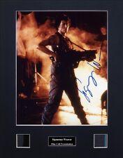 Sigourney Weaver Signed Photo Film Cell Presentation